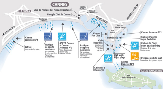plan littoral cannes